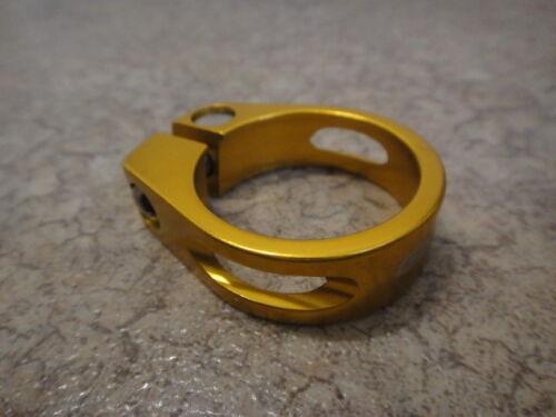 U.Z BIKE Red KREX Quick Release SeatPost Clamp 31.8mm  QR-