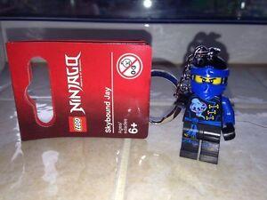 Brand New 2016 Lego Keychain Ninjago Skybound Jay 853534