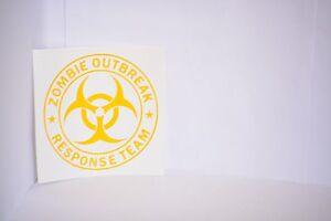 Zombie-Outbreak-Response-Team-Vinyl-Car-Laptop-Decal-Sticker-Choose-Color