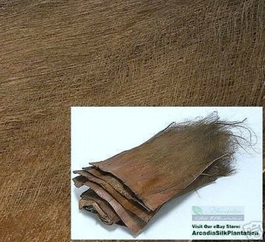 100%  Real Palm Trees Bark 4 LBS Artificial Silk Plants