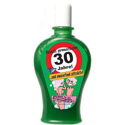 30 Geburtstag Shampoo 350ml Scherzartikel witzige Geschenke Geburtstag Gag