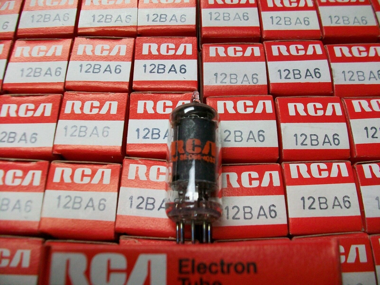 Nos Rca 12ba6 Vacuum Tube Tested Great Aa5 Radio Ebay The Capacitor And Resistor Are There As A Spark Arrestor For Your Norton Secured Powered By Verisign