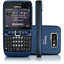 Nokia E63 Mobile - ULTRA BLUE ! QWERTY ! GSM ! FM ! Call Recording