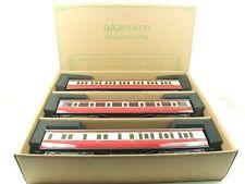 Darstaed O Gauge BR (Ex GWR) T/L Top Light Corridor Coaches x3 B/New Bxd Set A