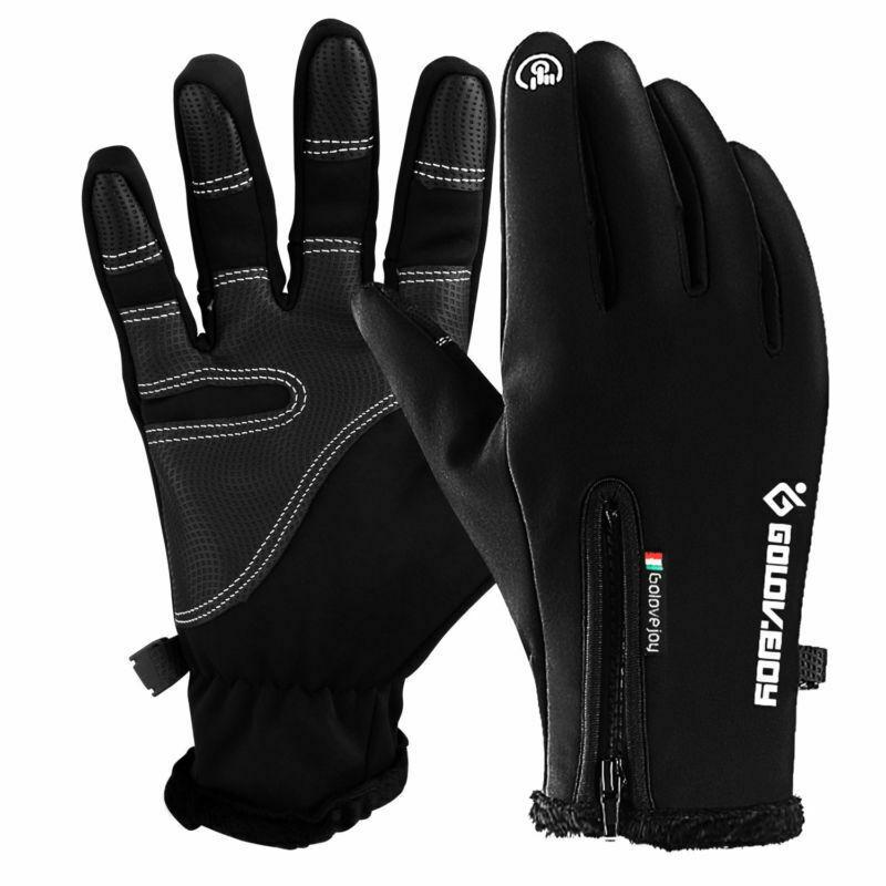 Winter Warm Gloves Touch Screen Outdoor Driving Windproof Waterproof Men Women