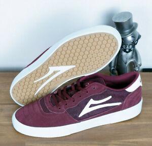 Lakai Footwear Skate Schuhe Shoes Cambridge Burgundy Suede 9/42,5