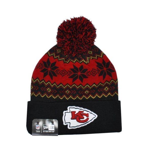 fc7346ecdf1 Buy Era NFL Kansas City Chiefs 2 Tone Cuffed Knit Pom Beanie Cap NewEra  online