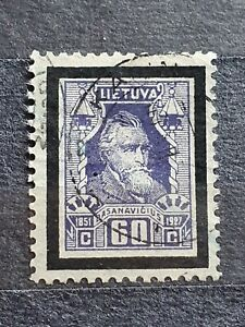 Lithuania 1927 60c Used