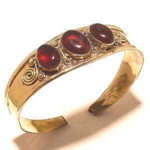 New-Offer-925-Tibetan-Brass-Free-Shipping-Garnet-Cuff-Jewelry