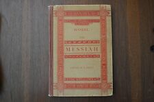 HANDEL THE MESSIAH  - PROUT - NEW YORK - 1902