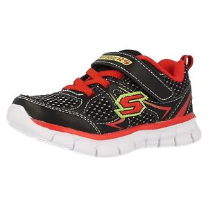 dbc22d582df Details about Infant Boys Skechers Foamies Synergy-Mini Dash 95090N Trainers
