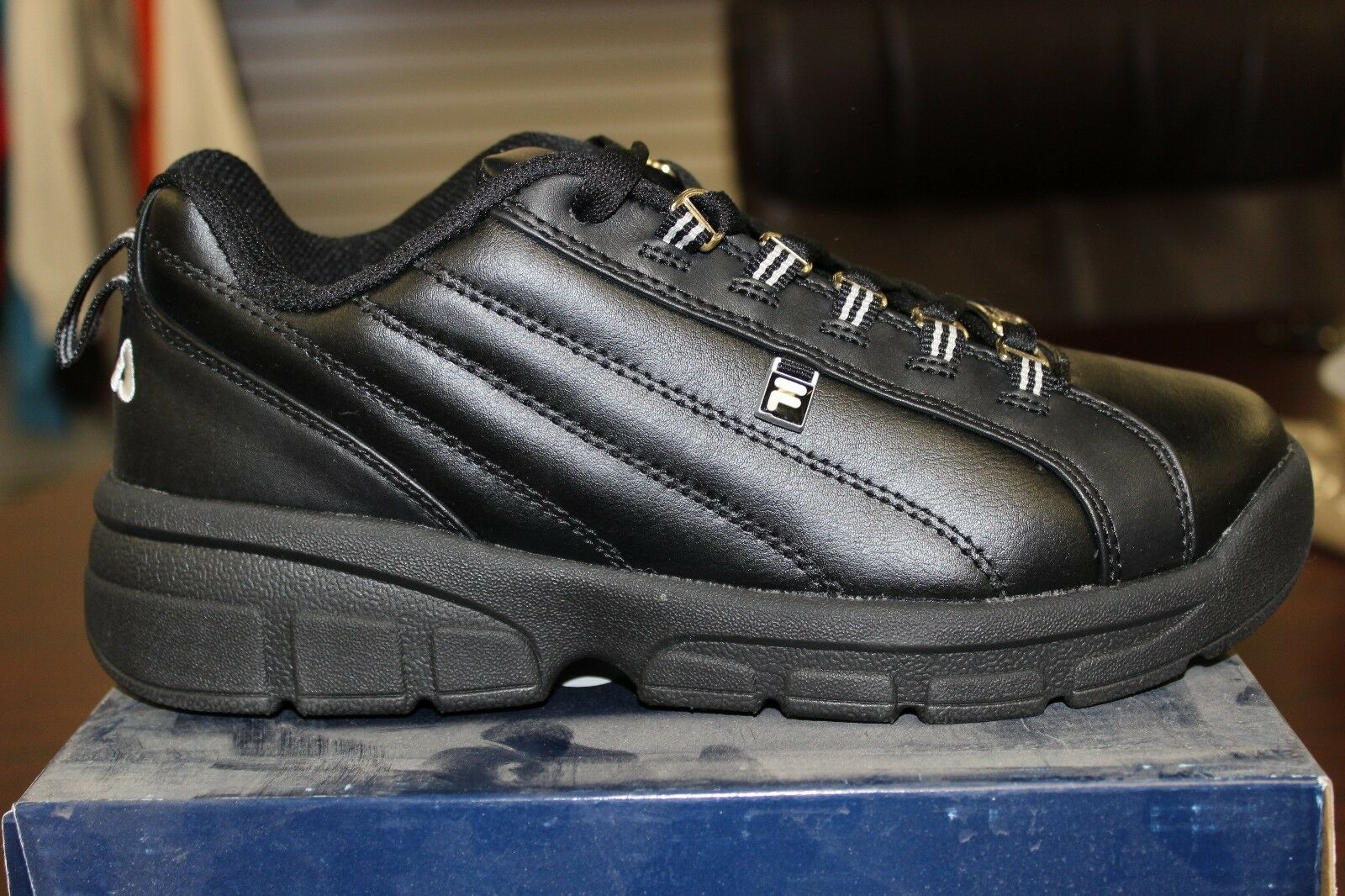 Fila Exchange 2K10 Black Metallic Silver Brand New in Box