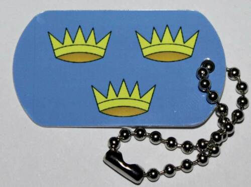 Travel Bug Geocoin Munster Flag Tag Trackable For Geocaching
