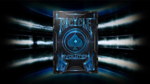Bicycle Evolution Deck by USPCC Brand New Playing Cards Blue