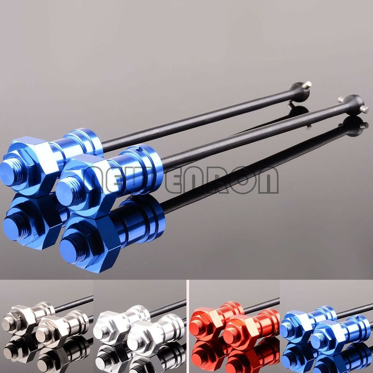 Drive shafts front Rear 8s heavy duty, stub axles for Traxxas X-Maxx 77086-4