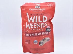 Stella & Chewy's Freeze Dried Wild Weenies Bac'n Dog Treats, 11oz, EXP: 01/22