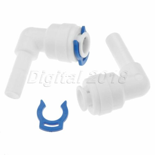 """5Pcs 1//4/"""" Elbow RO system Connector Connection Water Purifiers Filters Fittings"""
