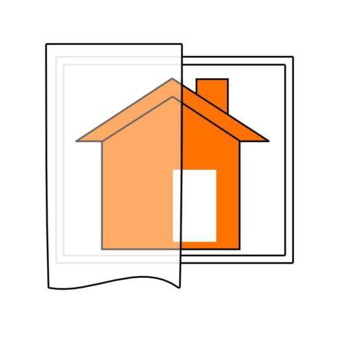 Schlaufenschal Vorhang Lisa Uni Homing transparent 5906-05245x140cm