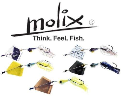 Select Color Molix Lover Buzz Super Squeaky 1//2 oz.