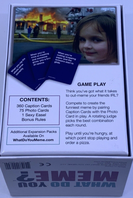 What Do You Meme? Party Game - COMPLETE with Instructions ...