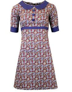 NEW-RETRO-INDIE-SIXTIES-PSYCHEDELIC-PAISLEY-60s-70s-MOD-DRESS-MC153-FREAKOUT