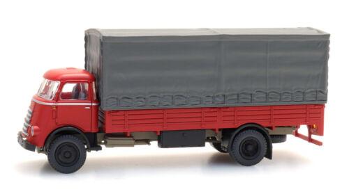 Artitec 487.040.01 DAF tablillas camiones kab 55 con capucha rojo h0 1:87 listo modelo