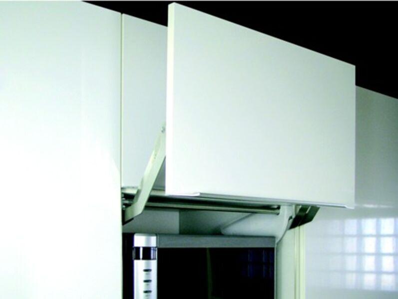 Kesseböhmer High folding system EWIVA Complete Set Flap hinge 600 mm Steel