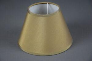 A614 Lampenschirm Stoff Textil Stoffschirm Ersatz E14 Ø ca 17,5 cm
