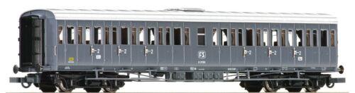 seconda classe FS Centoporte cassa metallica Grigio ardesia 1 ROCO 64984