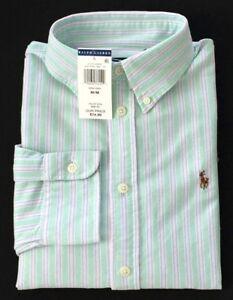 ab3d645a078 New Polo Ralph Lauren Women s Custom Fit Button Down Oxford Shirt ...
