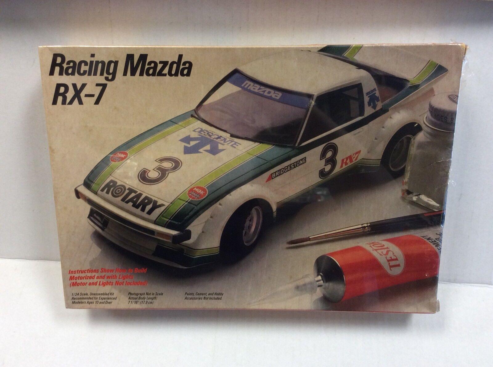 Testors Fujimi 1 24 Racing Mazda RX-7 Kit  NIB Sealed