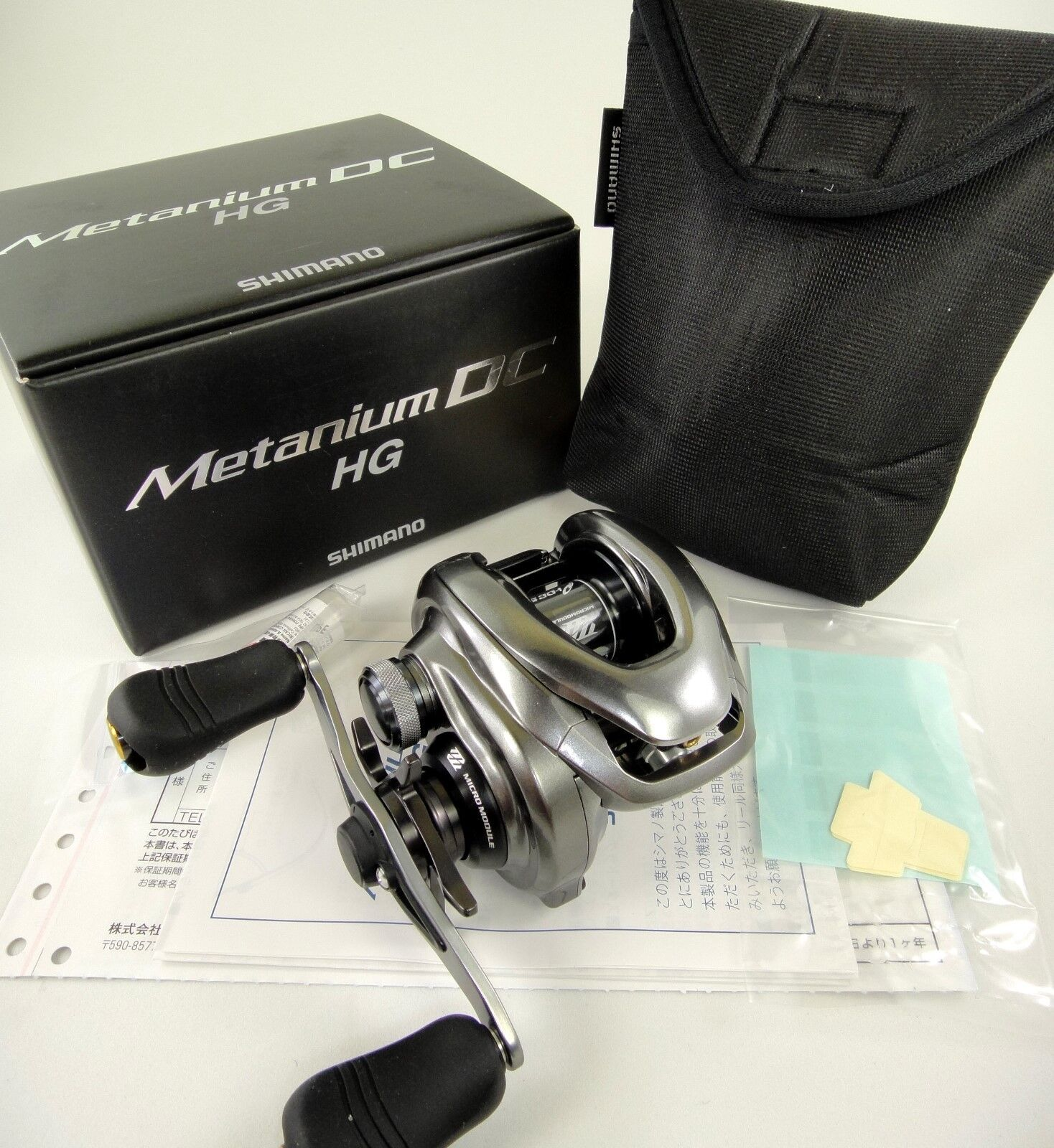 NEW SHIMANO METANIUM DC HG RIGHT HAND REEL 1-3 DAYS DELIVERY U.S SELLER