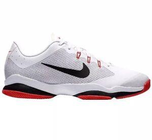 Men Nike Air Zoom Ultra Athletic Tennis Shoes Sneaker White Black ... c53fc258d22