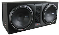 "Rockford Fosgate Punch P1-2X12 Dual 12"" 1000W Loaded Subwoofer/Sub+Enclosure/Box"