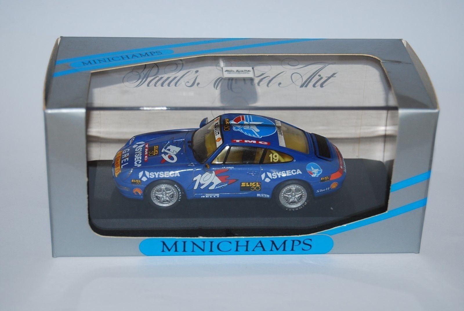 MINICHAMPS PORSCHE 911 SUPERCUP 1994 J.P. JARRIER 430946319 NEUF BOITE NEW BOX