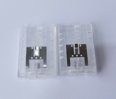 2x Transparent /Crystal battery case/cover/pack for xbox360 wireless controller