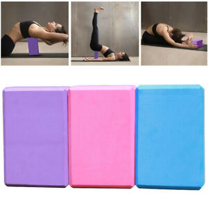 yoga blocks stretching aid eva brick gym pilates workout