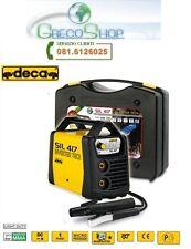 Saldatrice INVERTER ad elettrodo e TIG 170 Amp c/valigetta e acc. Deca - Sil 417