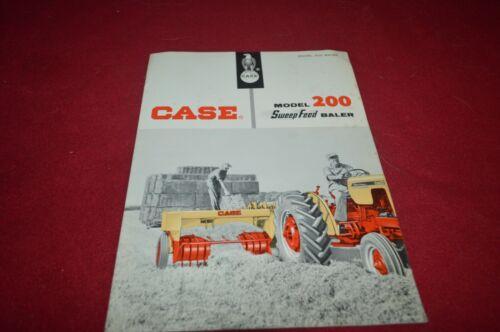 Case Tractor 200 Baler Dealer/'s Brochure WSVA