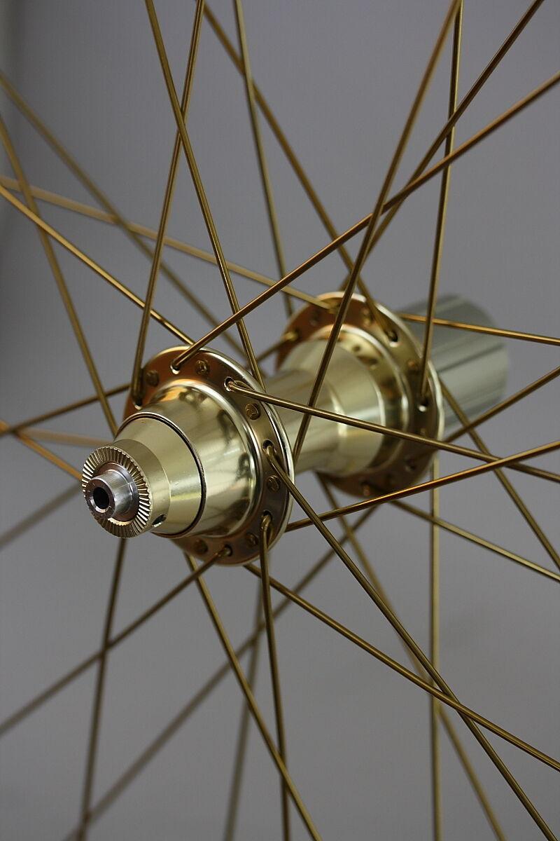 26  MTB V-Brake Laufradsatz in gold