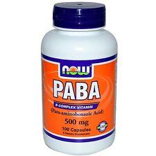 NOW Foods - PABA 500mg 100C