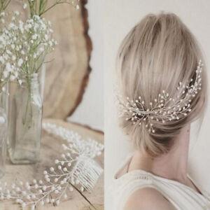 Chic Bride Bridal Hair Comb Wedding Headwear Women Pearl Hair Accessories