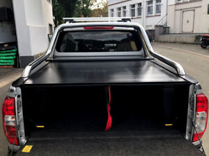 mercedes x klasse pickup hardtop laderaumabdeckung rollcover und rollbar ebay. Black Bedroom Furniture Sets. Home Design Ideas