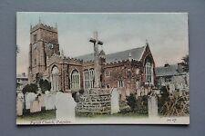 R&L Postcard: Parish Church Paignton, 1904 JWS Welch