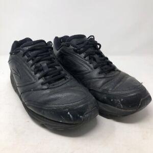 Brooks-Addiction-Walker-Mens-12-5-EE-Leather-Black-Walking-Shoes