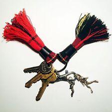 scottish tartan keychain tassel