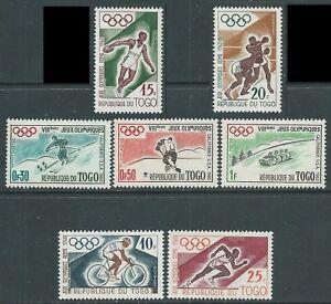 1960 TOGO OLIMPIADI DI ROMA MNH ** - F4-6