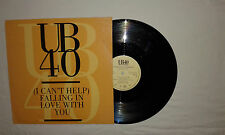 """UB40–(I Can't Help)Falling In Love With You-Disco Mix 12"""" 45 Giri Vinile 1993"""