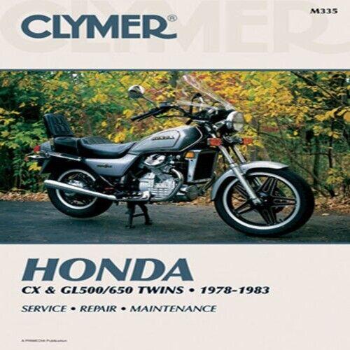 CLYMER REPAIR MANUAL Fits Honda CX650C Custom,GL650 Silver Wing,GL650I M335