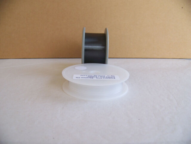 "Tungsten wire 0.0153 mm / 0.0006 ""  -   10m  / 33 ft."